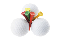 Golf Balls and Tees
